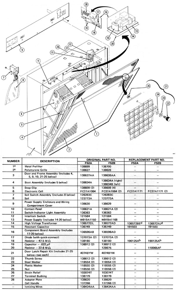 wiring diagram for air purifier