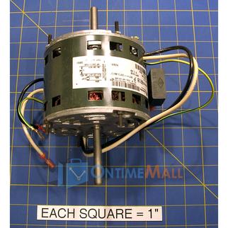 Honeywell 208359 blower motor for Multi speed blower motor