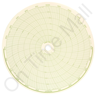 Honeywell 24001660-002 Circular Charts
