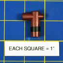 Nortec 135-4012B Black Cylinder Plug