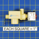Data Aire 154-300-185 Drain Valve Assembly