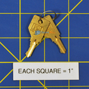 Nortec 185-3102 Key & Lock Kit
